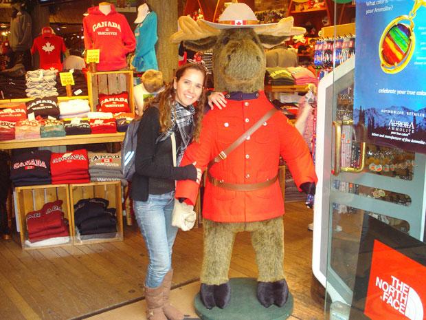 Gláucia Junqueira, de 34 anos, foi estudar no Canadá no ano passado (Foto: Arquivo pessoal)