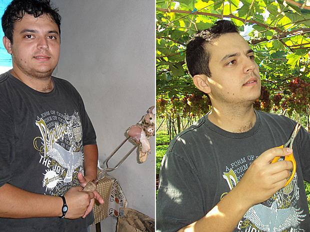 Marcelo montagem (Foto: Arquivo pessoal)