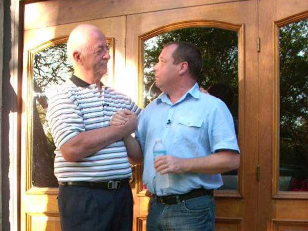 Velasco e Wilkinson (Foto: BBC)