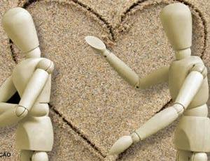 Por engano, juíza de paz casou noiva com testemunha. (Foto: Ilustração Arte G1)