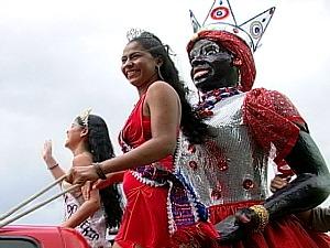 Kamélia é atração do carnaval em Manaus (Foto: Reprodução/TV Amazonas)