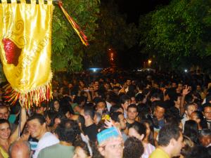 Bloco Luxo da Aldeia reúne foliões e fãs de compositores cearenses (Foto: Rubens Venâncio/Divulgação)