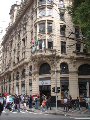 Prédio onde funcionou editora de Monteiro Lobato (Foto: Clara Velasco)