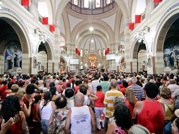Dia de São Sebastião (Foto: Rudy Trindade/AE)