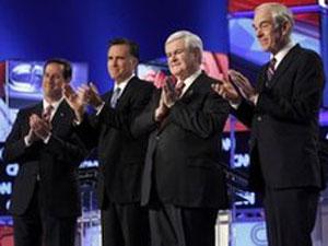 Quatro pré-candidatos continuam na disputa pela indicação do Partido Republicano  (Foto: AP)