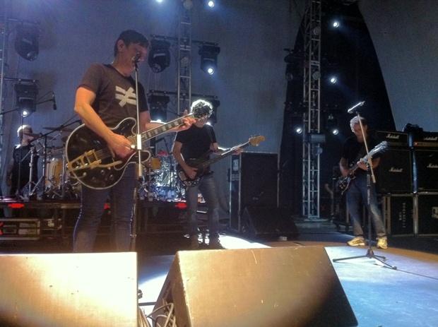 Titãs comemora, em 2012, 30 anos de carreira (Foto: Carlos Eduardo Matos/G1 AM)