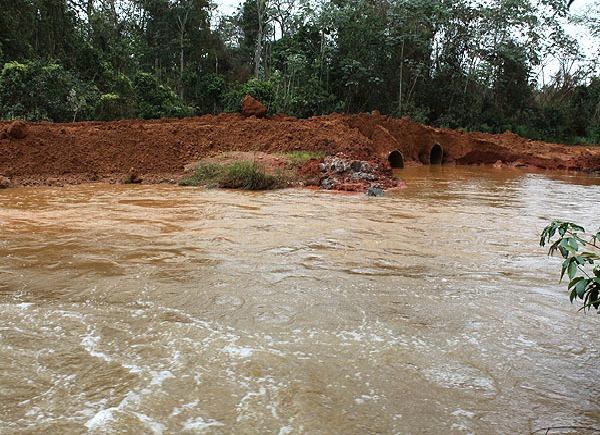 Ponte MT 222 (Foto: Só Notícias/Cleverton Neves)