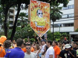 'Comigo  é na base do Beijo' sai pelo terceiro ano em Boa Viagem. (Foto: Beto Santana / Divulgação)