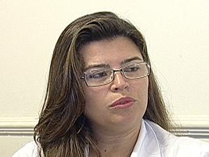 Fernanda Magalhães disse que suplementos são vendidos (Foto: Reprodução/TV Integração)