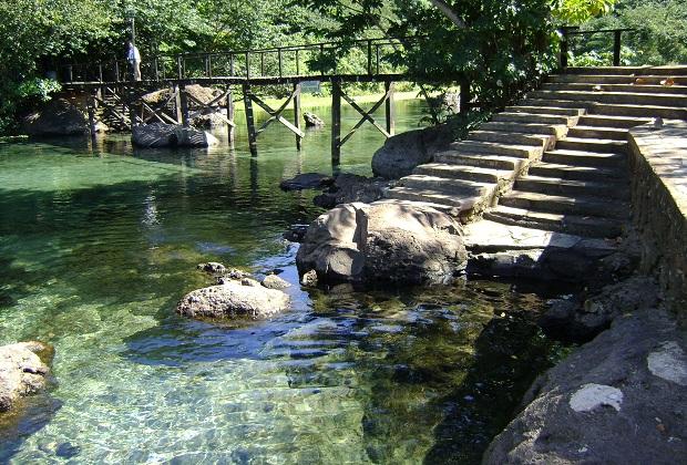 A temperatura média da água de Lagoa Santa chega a 31 graus.  (Foto: Arquivo pessoal)