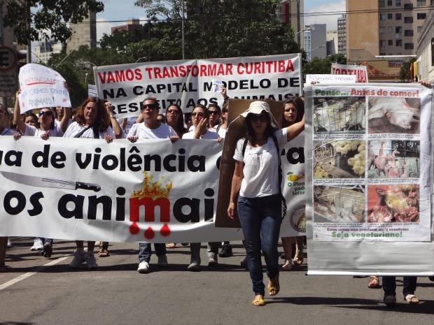 Mobilização (Foto: Júlio Santos / RPC TV)