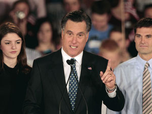 romney carolina do sul (Foto: AP)