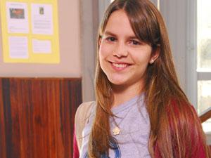 Em 2009, Bianca atuou na novela 'Gama de gato' (Foto: João Miguel Júnior/TV Globo)