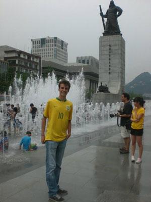Daniel Garcia foi outro brasileiro contemplado pela bolsa de estudos (Foto: Arquivo pessoal)