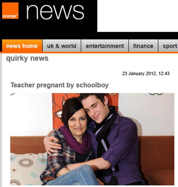 Renata Juras e Erwin Unterlechner (Foto: Reprodução/Orange News)