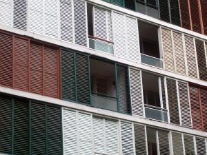 Edifício Lausanne introduziu os brises nas fachadas, que se tornariam uma marca de Higienópolis (Foto: Alec Duarte/G1)