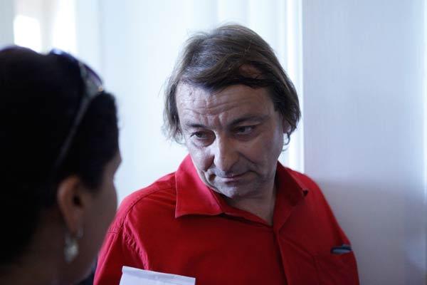 Cesare Battisti esteve no Palácio Piratini para a abertura do Fórum Social Temático (Foto: Ivan Trindade/FST2012)