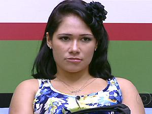 A baiana Jakeline, eliminada do 'BBB 12' (Foto: Reprodução/TV Globo)