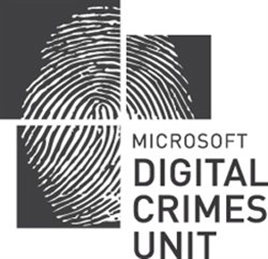 Logo da unidade de crimes digitais da Microsoft focada em derrubar redes criminosas na internet (Foto: Divulgação)