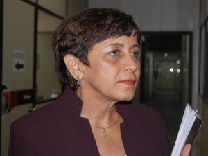Secretária Aracilba Rocha (Foto: Renata Vasconcelos)