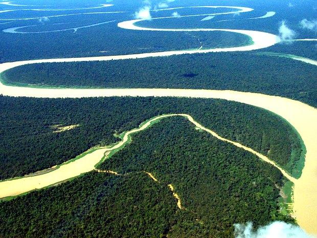 Bacia amazônica, área de atuação do projeto (Foto: Divulgação/UEA)
