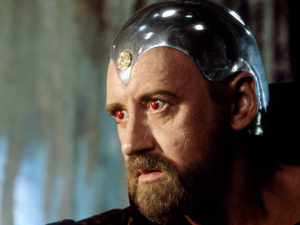 Nicol Williamson como o Merlin de 'Excalibur', de 1981 (Foto: Reprodu&#231;&#227;o)