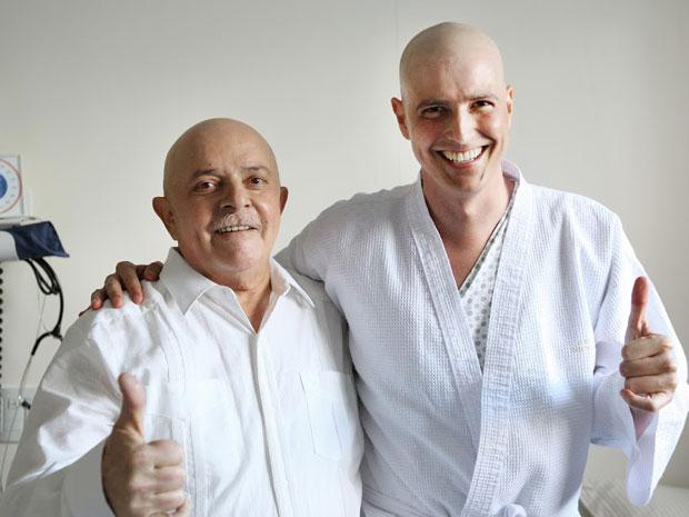 Lula e o ator (Foto: Ricardo Stuckert/Instituto Lula)