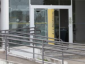 Homem é morto durante ação de quadrilha em banco no interior da BA (Foto: Site Forte na Notícia)