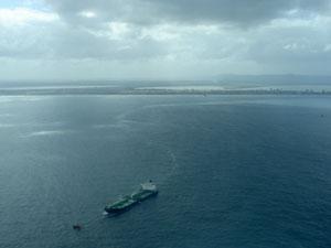 vazamento óleo (Foto: Brigada Militar/Divulgação)