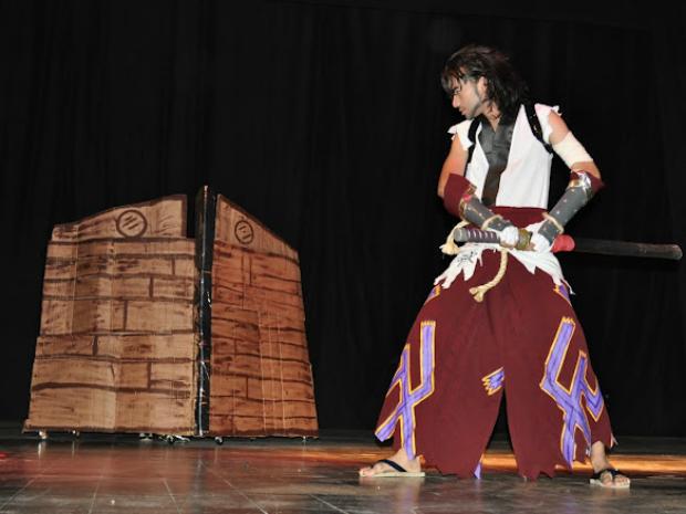 O cosplay está presente em todas as áreas do evento, que também conta com competições em quatro categorias distintas. (Foto: FCNB/Divulgação)