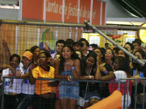 Sob euforia de fãs, Luan Santana chega ao Parque de Exposições (Foto: Divulgação/ Arton Ferreira/ Ag. Edgar de Souza )