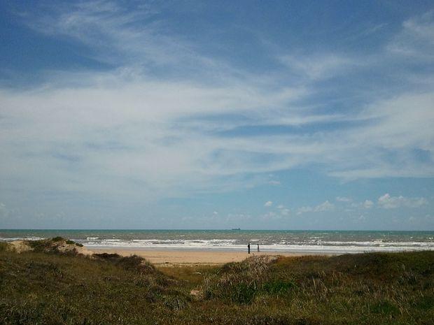 A qualidade das águas do mar e dos rios que banham Sergipe é considerada boa (Foto: Joelma Gonçalves/G1 SE)