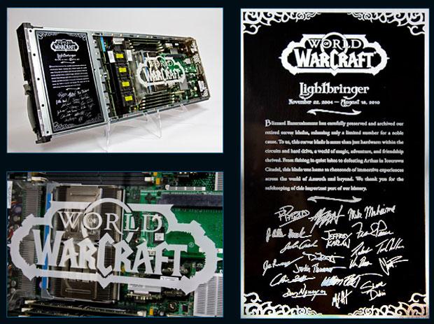Servidor de 'World of Warcraft' que está sendo leiloado. 350 deles podem ser comprados com lances que começam em US$ 100 (Foto: Divulgação)