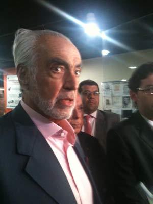 Síndico Paulo Renha (Foto: Lívia Torres/G1)