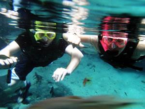 Mergulho em Nobres (Foto: Kelly Martins/G1)