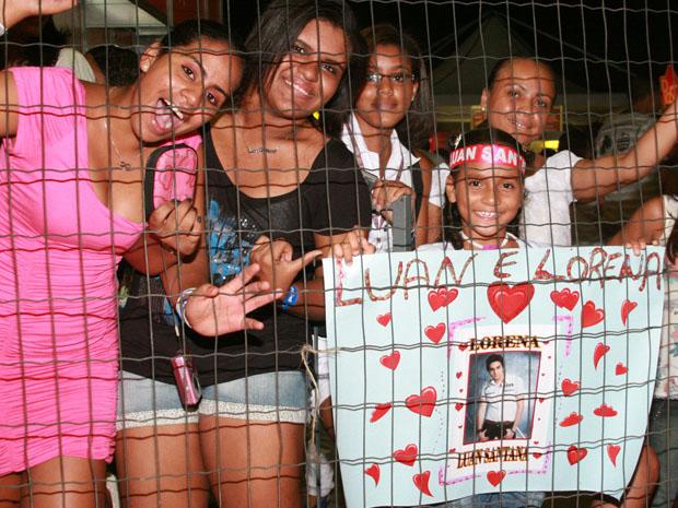 Mãe presenteia filha de oito anos com show de Luan Santana  (Foto: Divulgação/ Airton Ferreira/ Ag. Edgar de Souza)