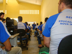 Detentos passam por programa de ressocialização na Paraíba (Foto: Divulgação/Secom-PB)
