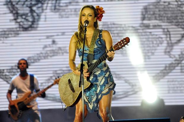 Claudia Leitte no Festival de Verão (Foto: Divulgação/Eduardo Freire/Agência Edgar de Souza)