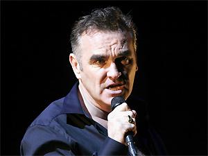O ex-vocalista da banda britânica The Smiths, Morrissey (Foto: Divulgação)