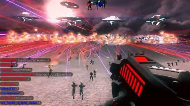 Game de tiro on-line teve 999 jogadores ao mesmo tempo em uma partida (Foto: Divulgação)