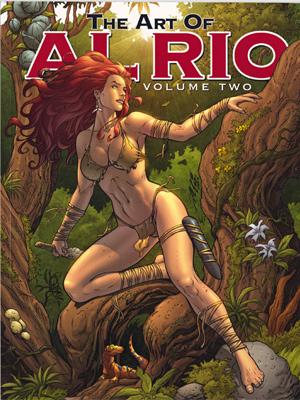 Capa de 'The art of Al Rio V2' (Foto: Reprodução)