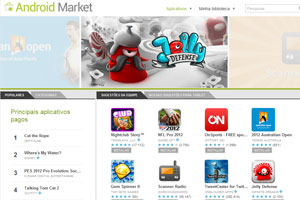 android market (Foto: Reprodução/Android Market)