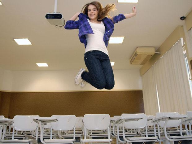 Bianca colecionou primeiros lugares em duas universidades públicas (Foto: Alastair Grant/AP)