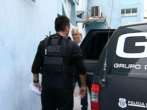 Prefeito de Conceição da Barra foi preso na tarde desta terça-feira (31) (Foto: Reprodução/TV Gazeta)