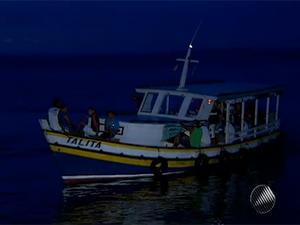 marinheiro salvador reclama de terminal maritimo (Foto: Reprodução/TV Bahia)