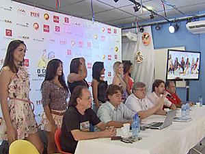 Galo da Madrugada anuncia detalhes do desfile (Foto: Reprodução/TV Globo)