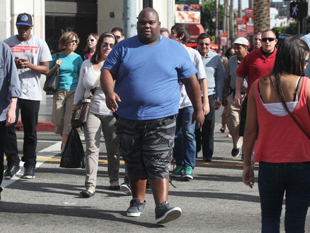 O ator Cleo Berry não tem problemas de diabetes nem pernas amputadas (Foto: Misha Erwitt/The New York Times)