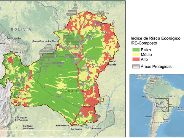Cabeceiras, nas bordas do Pantanal, enfrentam os maiores riscos, segundo pesquisa (Foto: Divulgação / WWF)