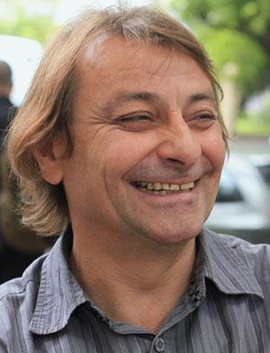 Cesare Battisti, durante o Fórum Social Mundial em Porto Alegre no dia 26 de janeiro (Foto: Edison Vara/Reuters)