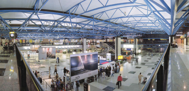Aeroporto Afonso Pena vai ser o primeiro do país a receber as lanchonetes populares (Foto: Divulgação/Infraero)